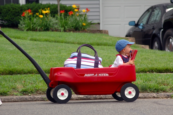 pack the perfect red wagon