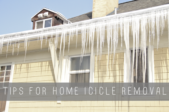 home icicle removal