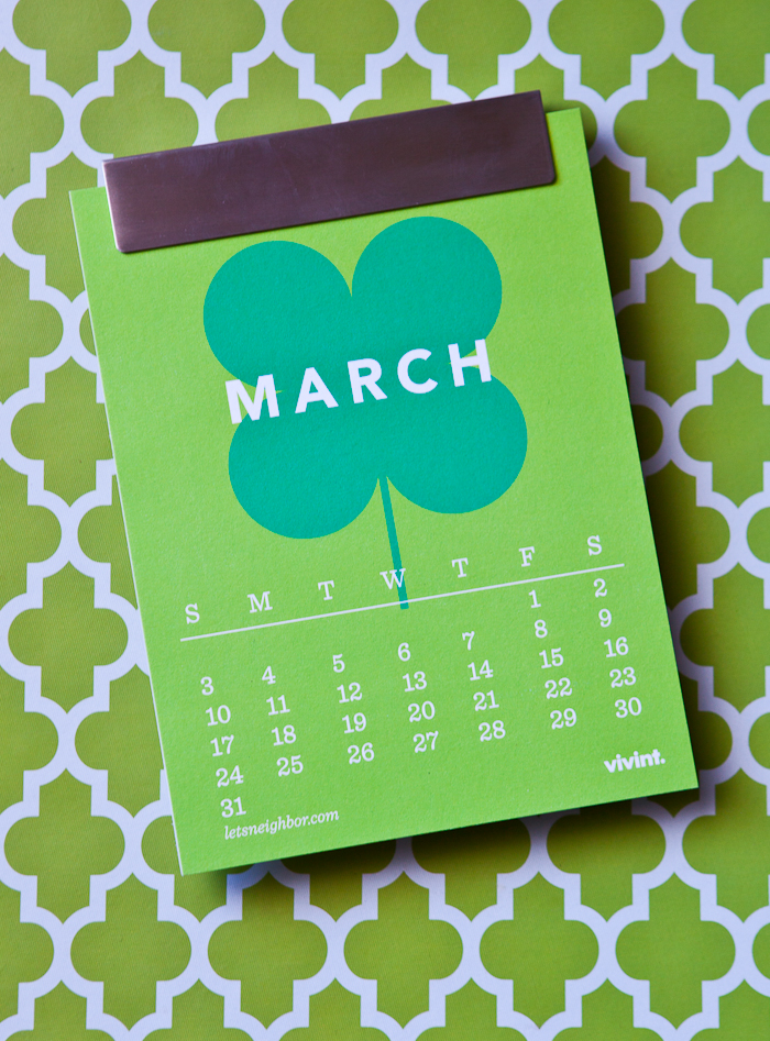 the neighborhood calendar – march