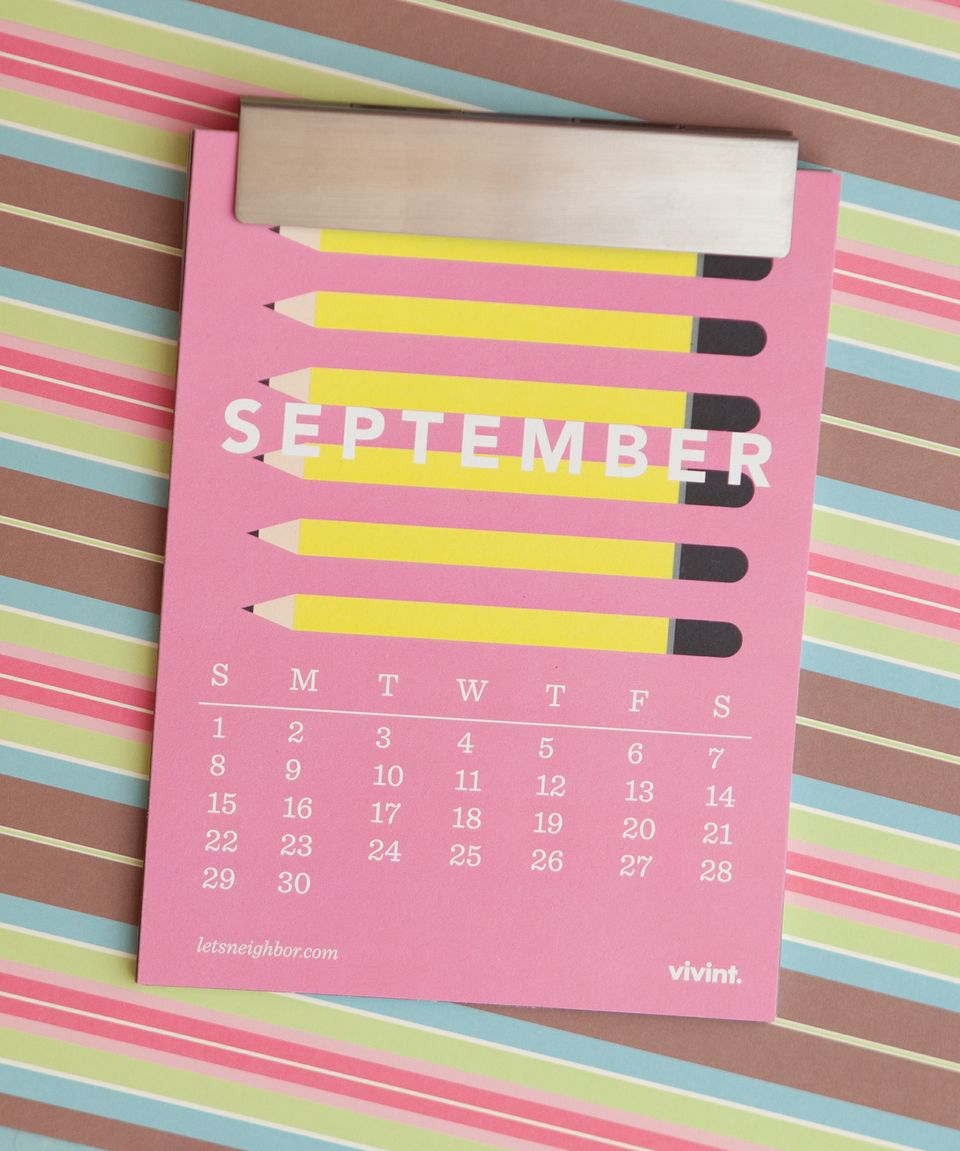 the neighborhood calendar – september