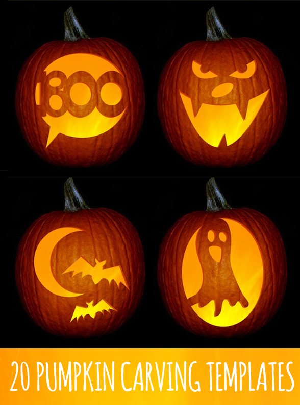 Free printable downloadable pumpkin templates Ideas for pumpkin carving templates
