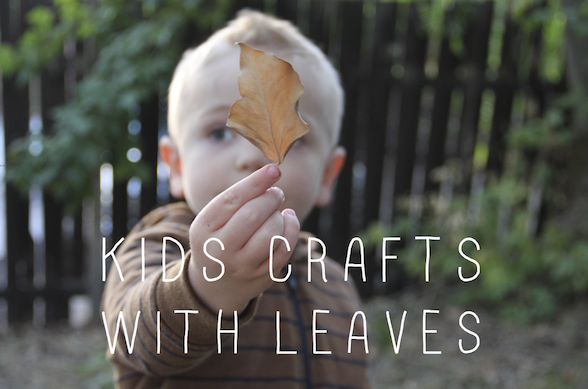 kids crafts with leaves