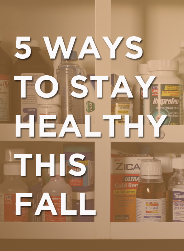 staying healthy this fall