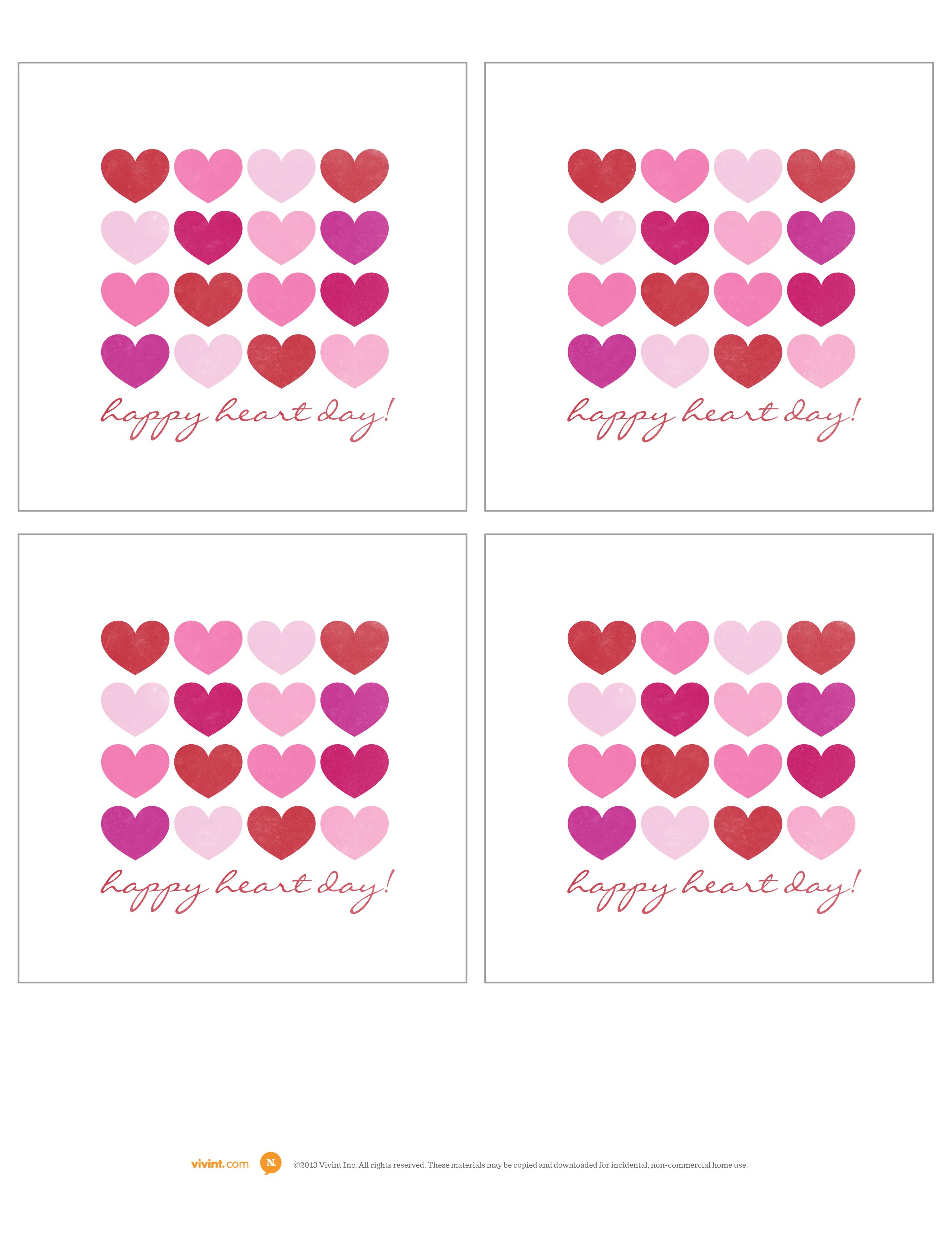 valentines day card The Neighborhood – Mini Valentine Cards