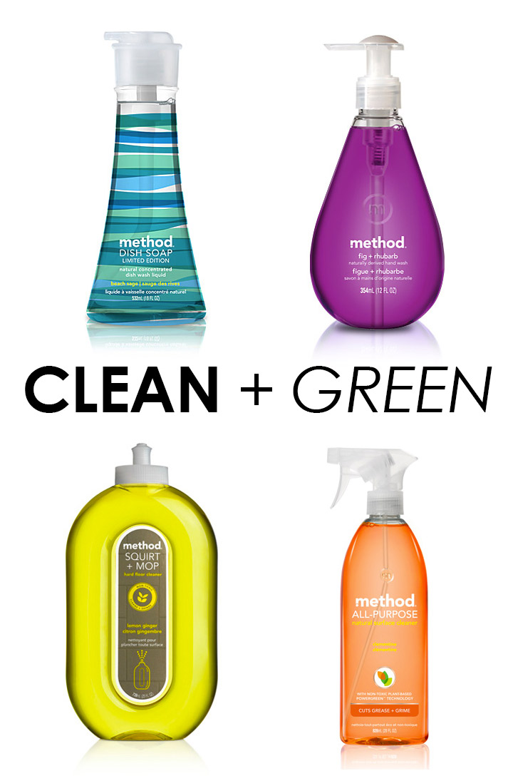 national cleaning week: go green