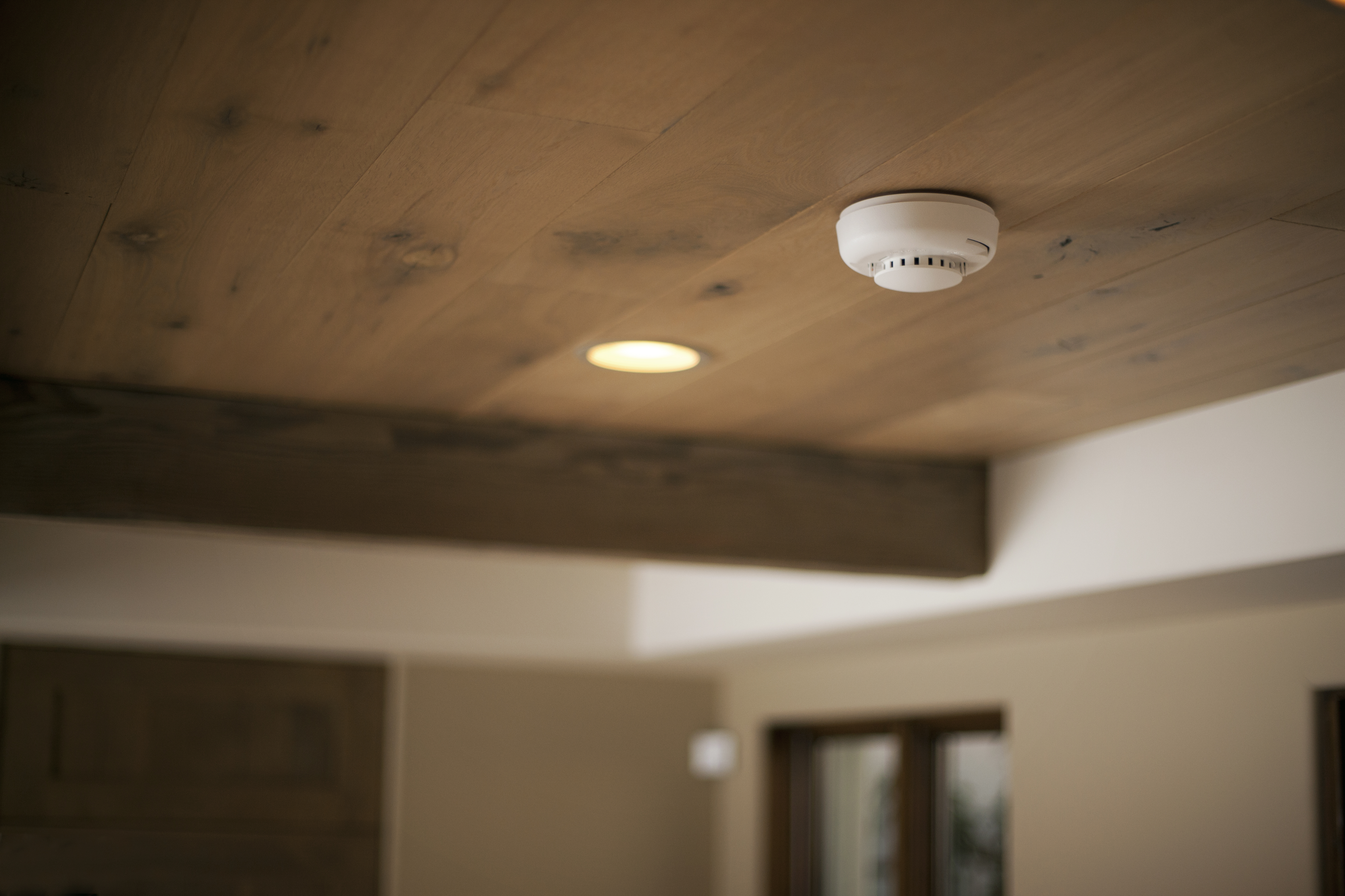 a smoke detector that can take the heat