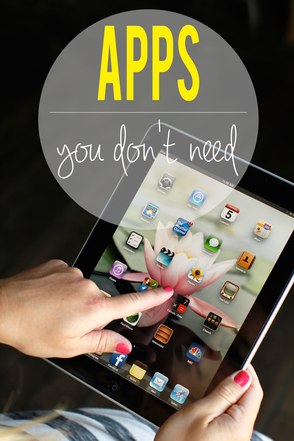 apps you don't need