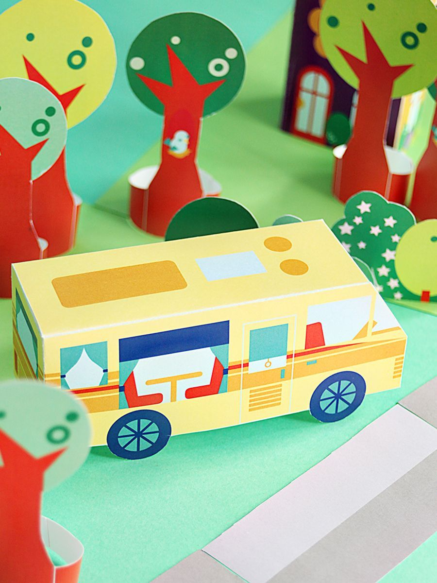 printable neighborhood – let's go camping!