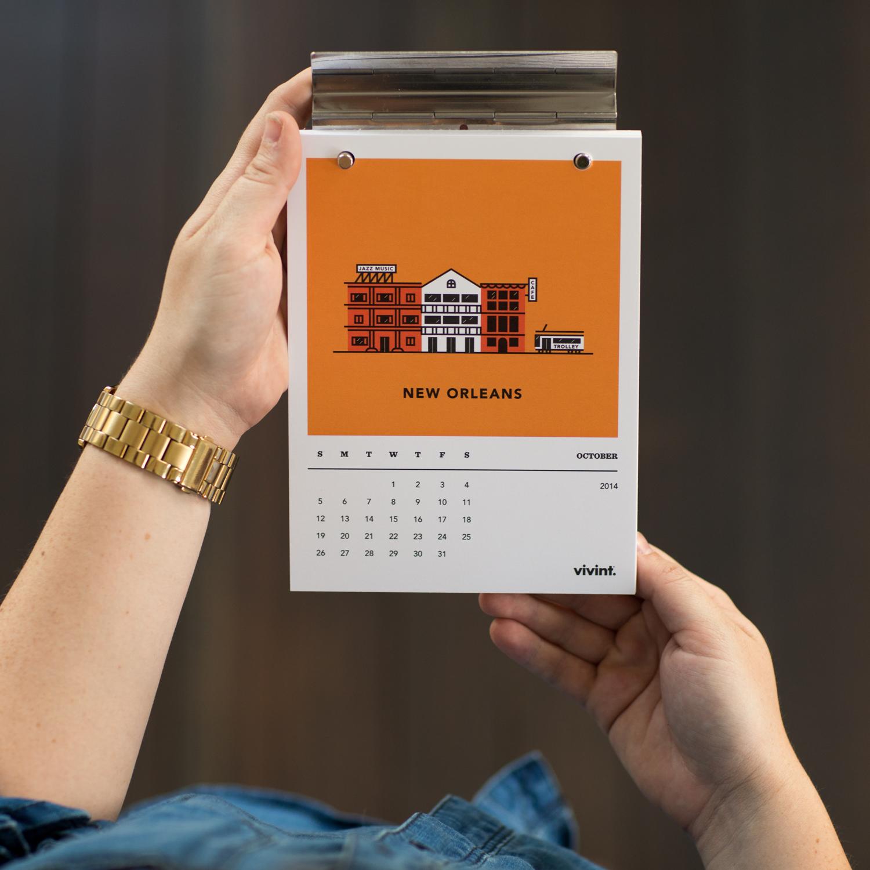 october neighborhood calendar – new orleans
