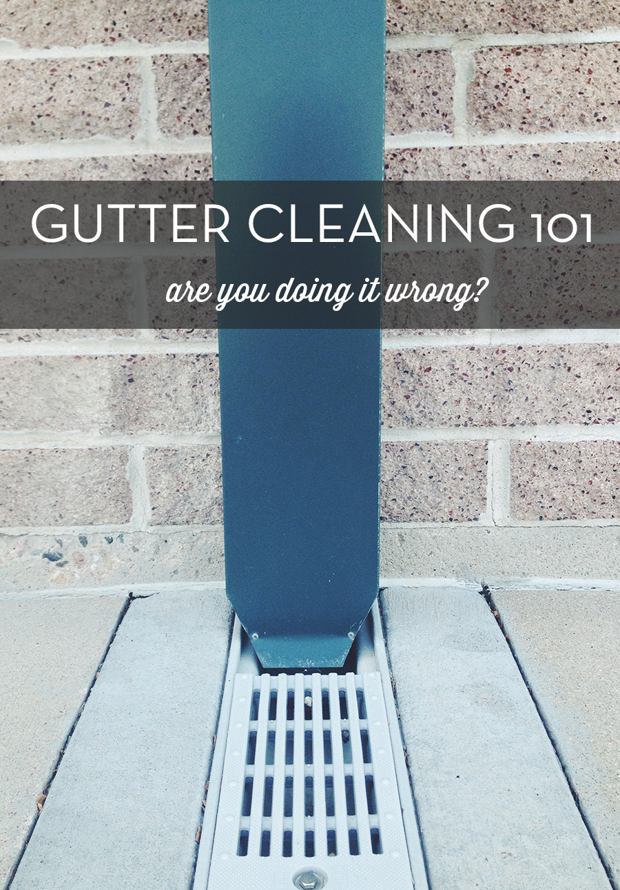gutter cleaning 101
