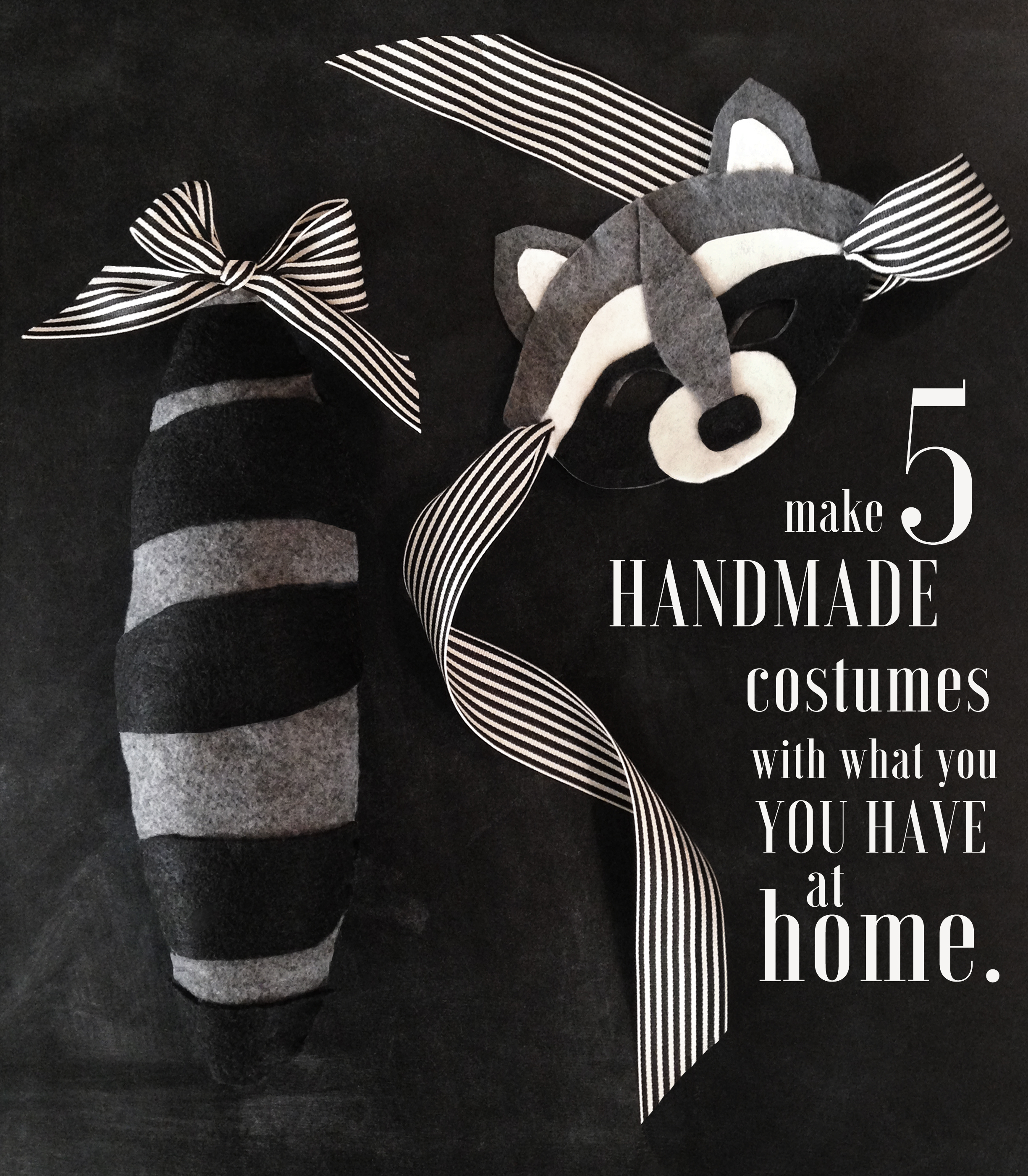 5 Easy Homemade Halloween Costumes | The Neighborhood