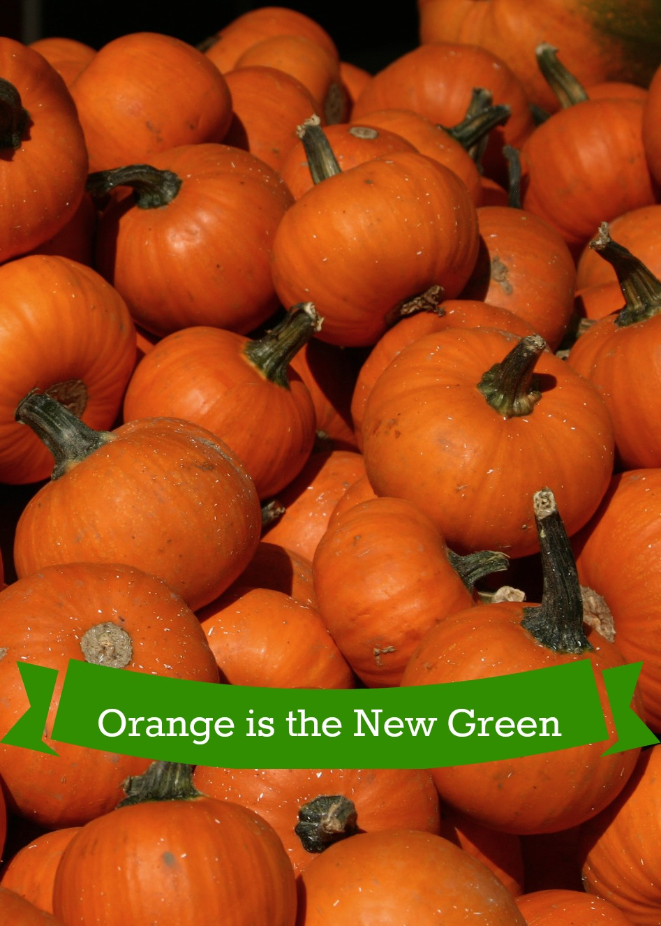 orange is the new green