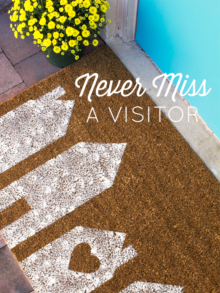Never Miss a Visitor