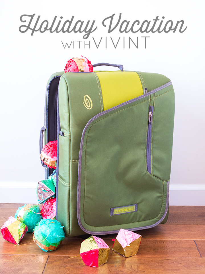 Planning Holiday Vacation with Vivint