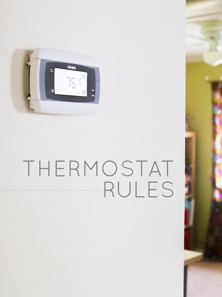 Thermostat Schedules