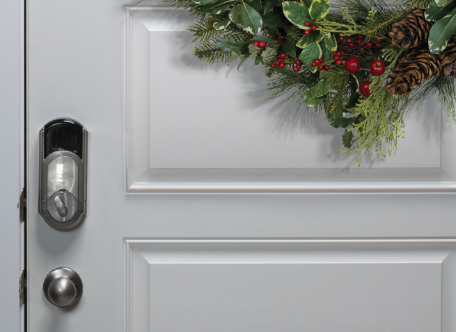 Never Home Alone with Vivint (Door Lock)