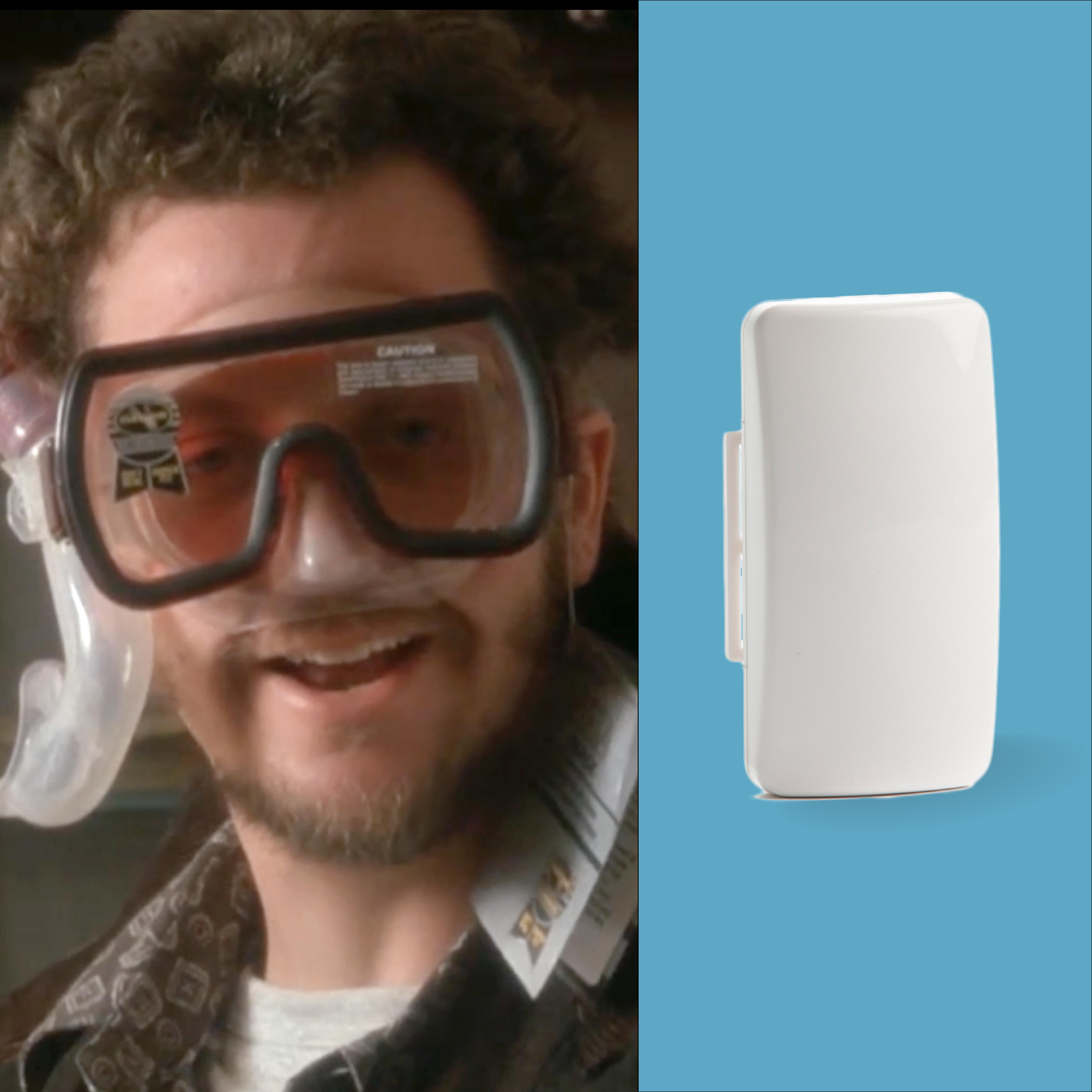 Never Home Alone with Vivint – Flood Sensor