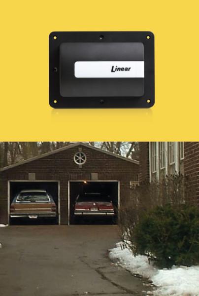 Never Home Alone – Garage Door
