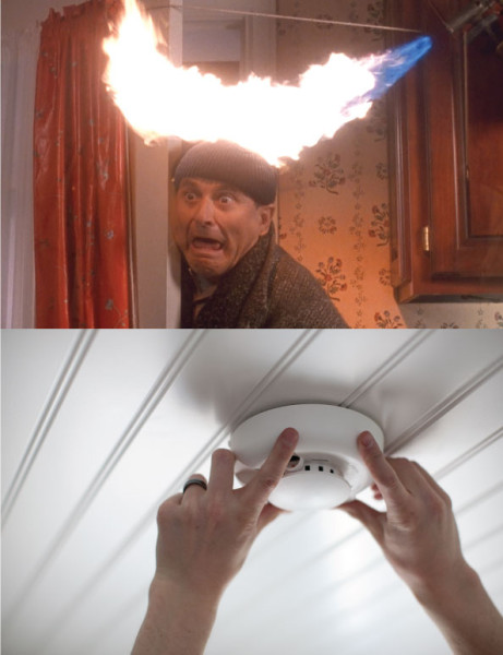 Never Home Alone with Vivint – Smoke Detector