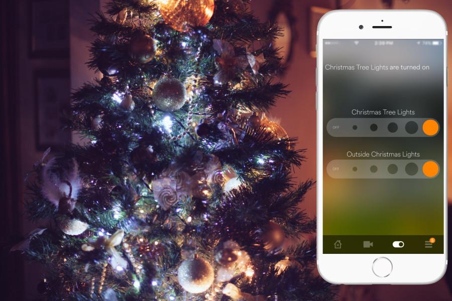 Control Your Christmas Tree With The Touch Of A Button