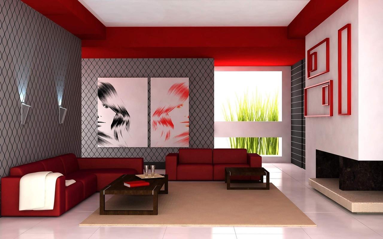 Elegant Living Room Wallpaper Part 25