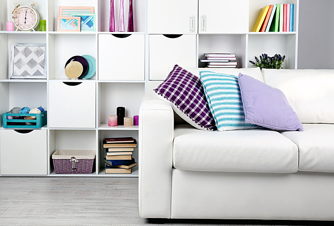 Tricks for a Clean Living Room