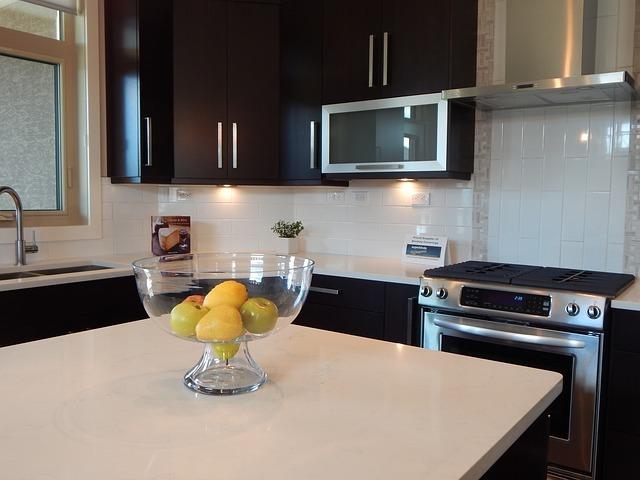 Concrete Countertops In Kitchen
