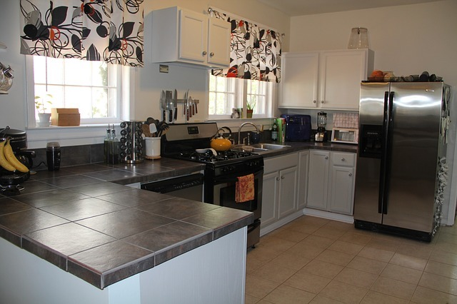 Tile Countertops In Kitchen