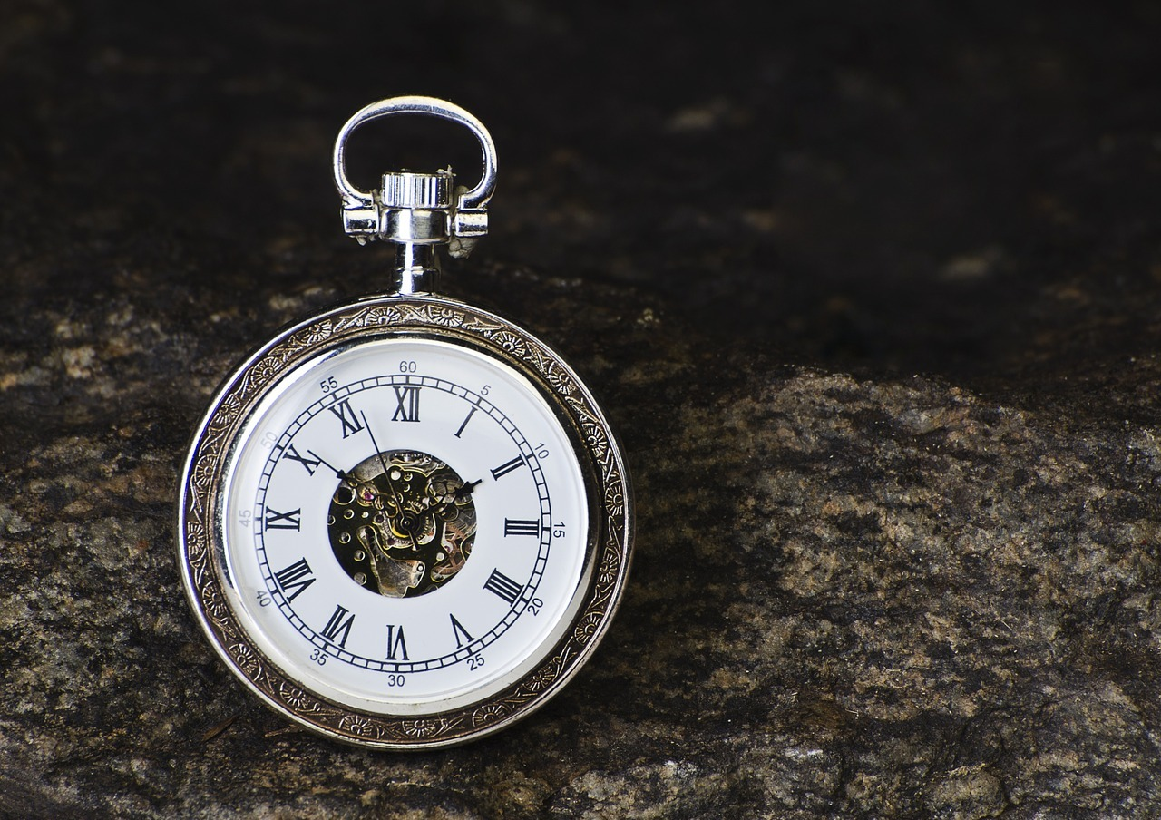A pocket watch.