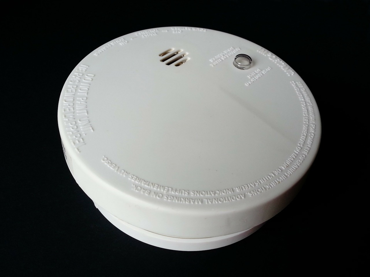 make sure your smoke alarm is connected to your smart house automation system
