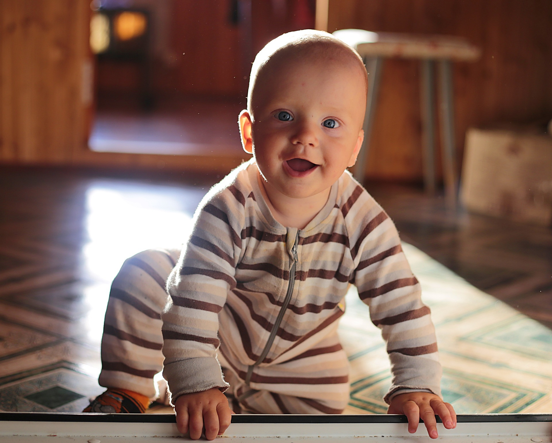 Baby proofing your home will help keep your baby safe.