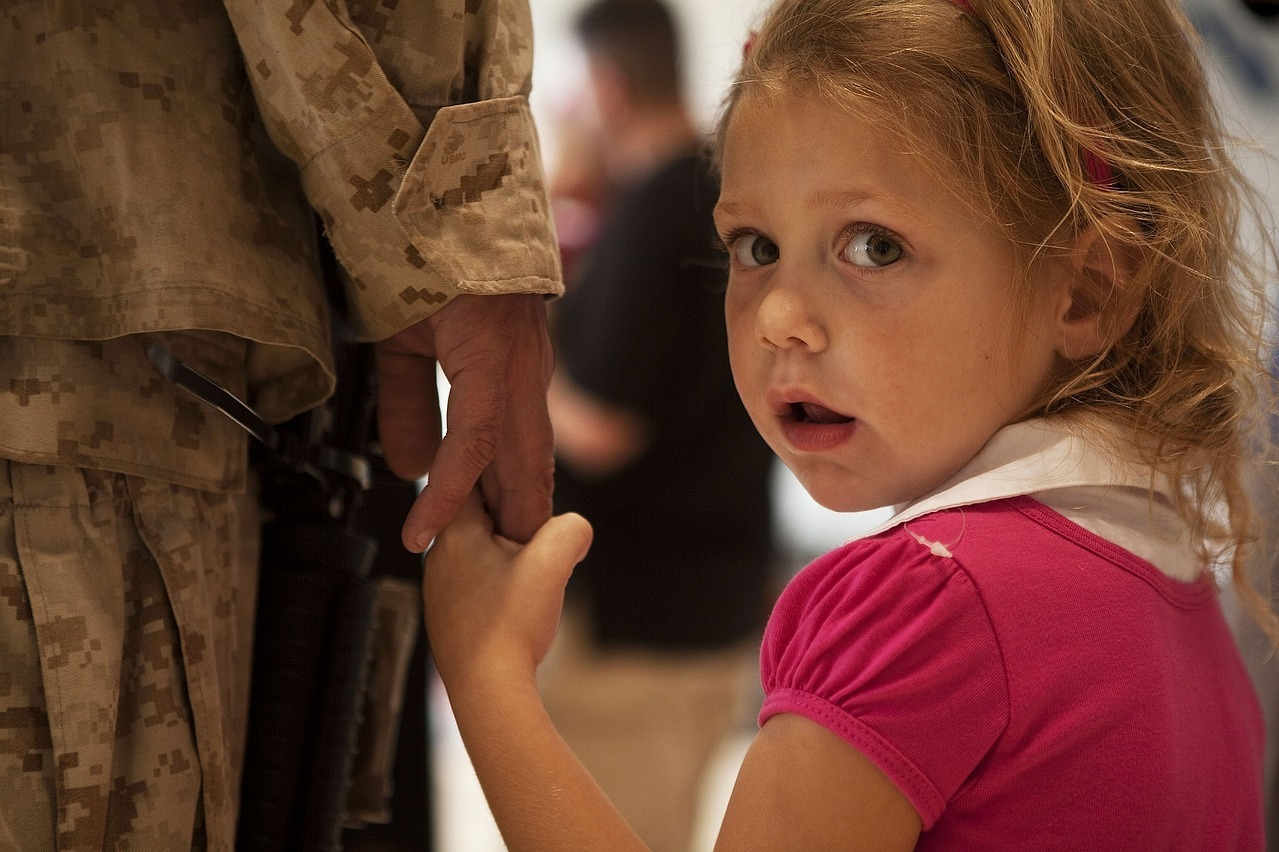 Military parents want to keep their kids safe while away on duty
