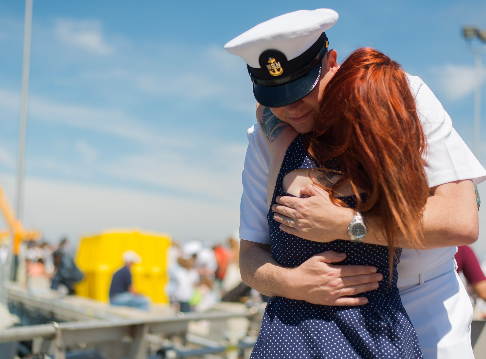 It's important to be able to see and talk to your spouse who is serving in the military