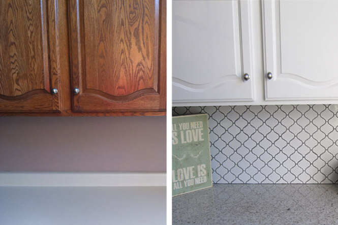 vivint_corrine kitchen DIY