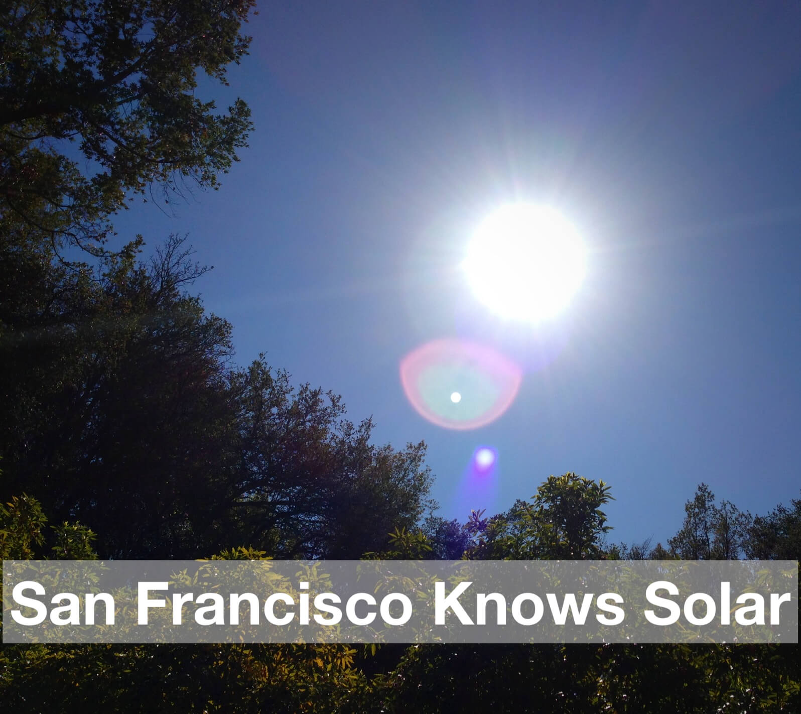 San Francisco knows solar