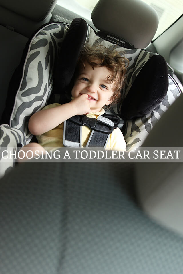 switching your toddlers to a convertible car seat