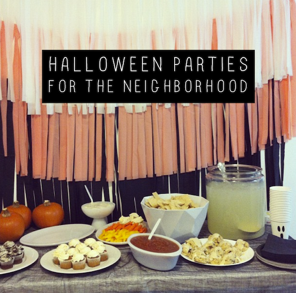 halloween parties for the neighborhood