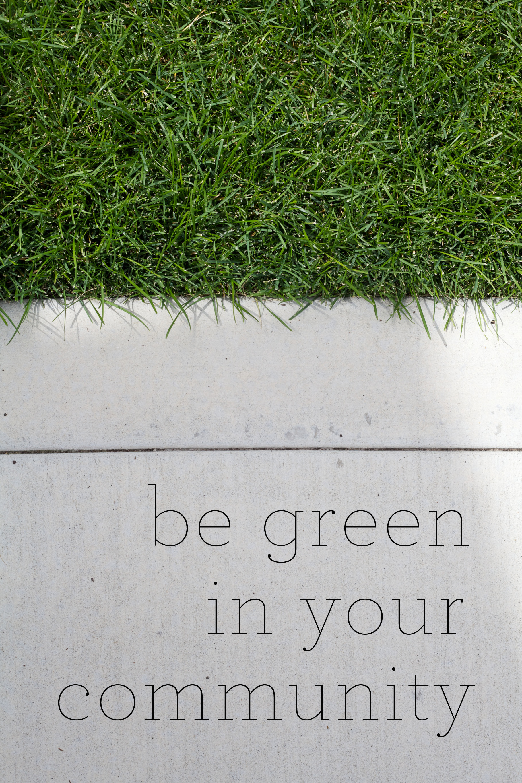 everyone can live green!