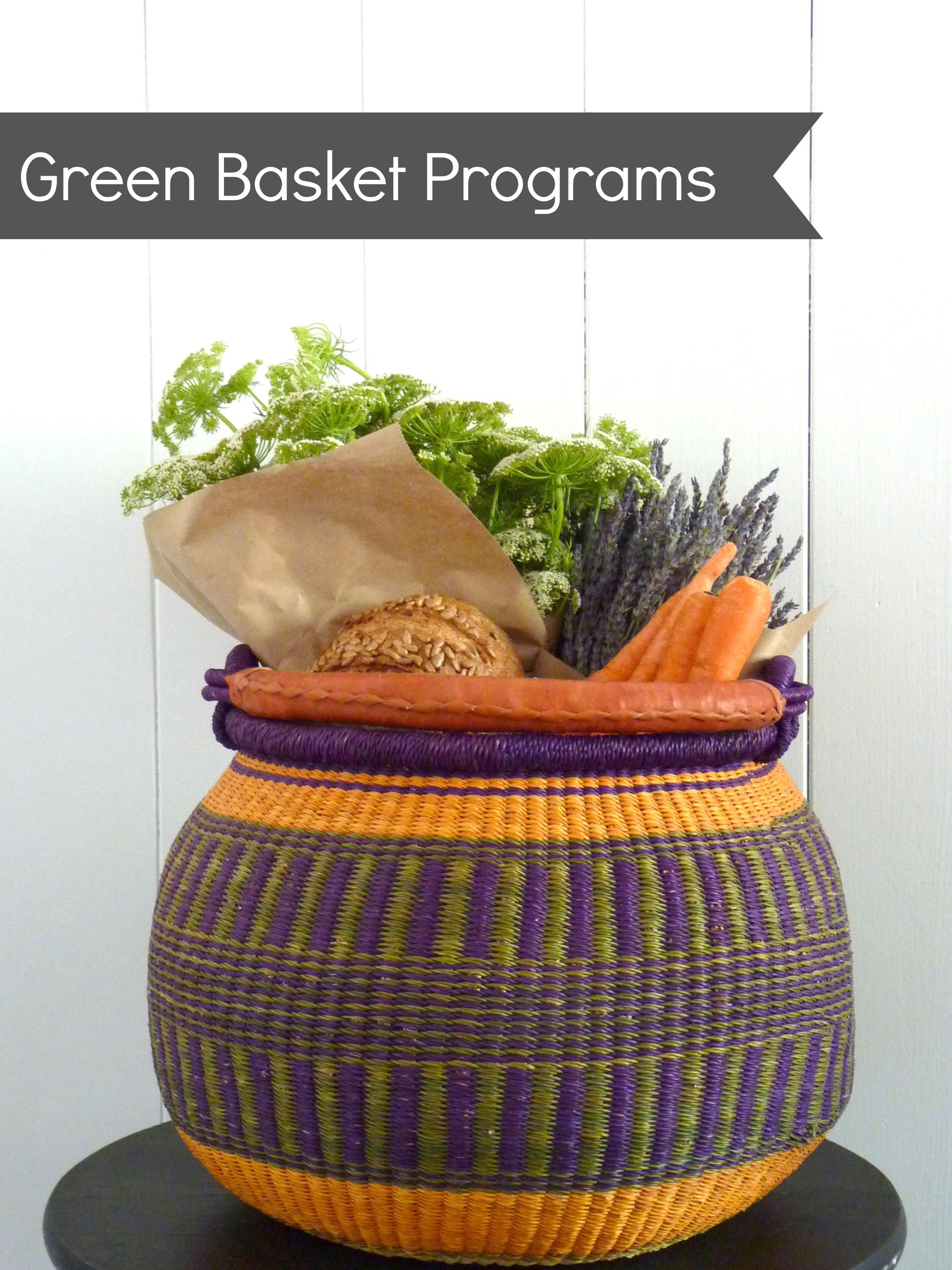 green basket programs