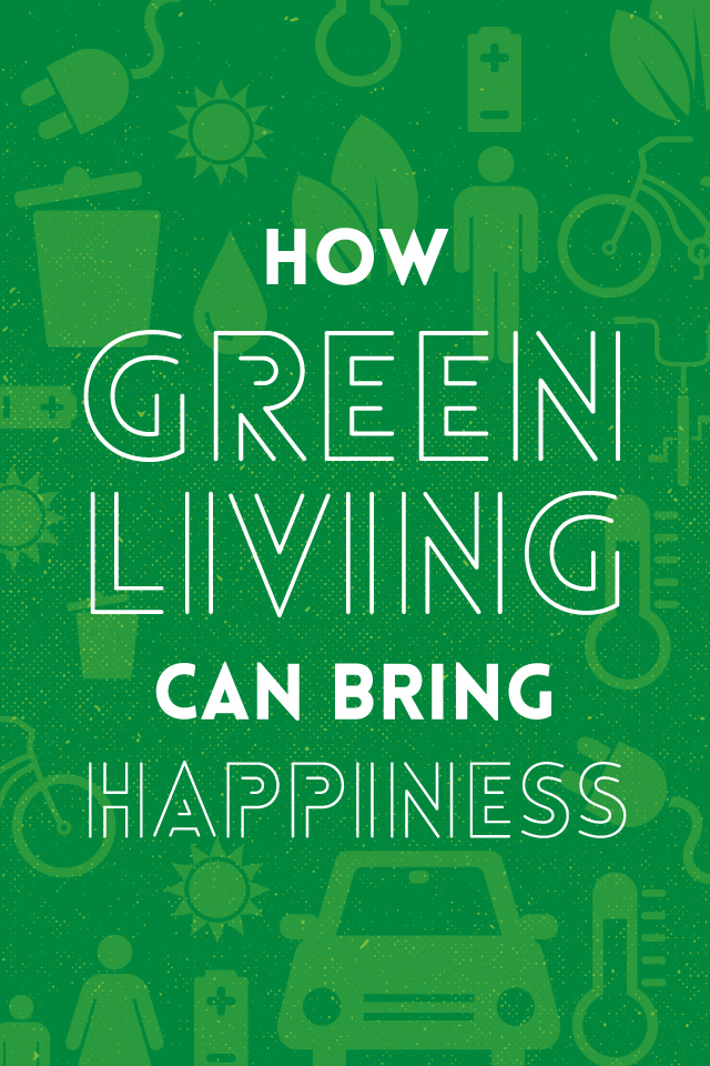 how green living brings happiness