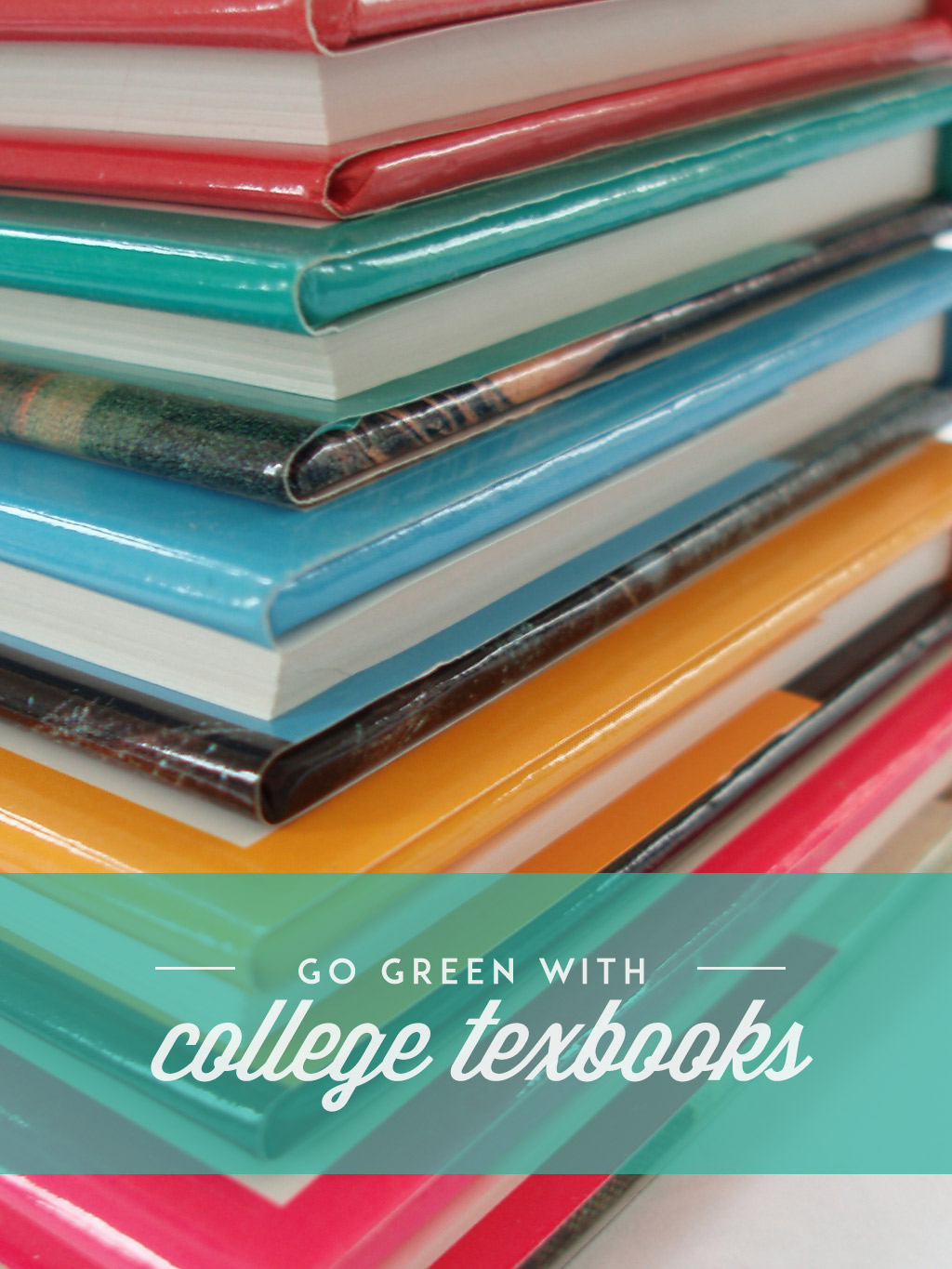 How to Go Green with College Textbooks