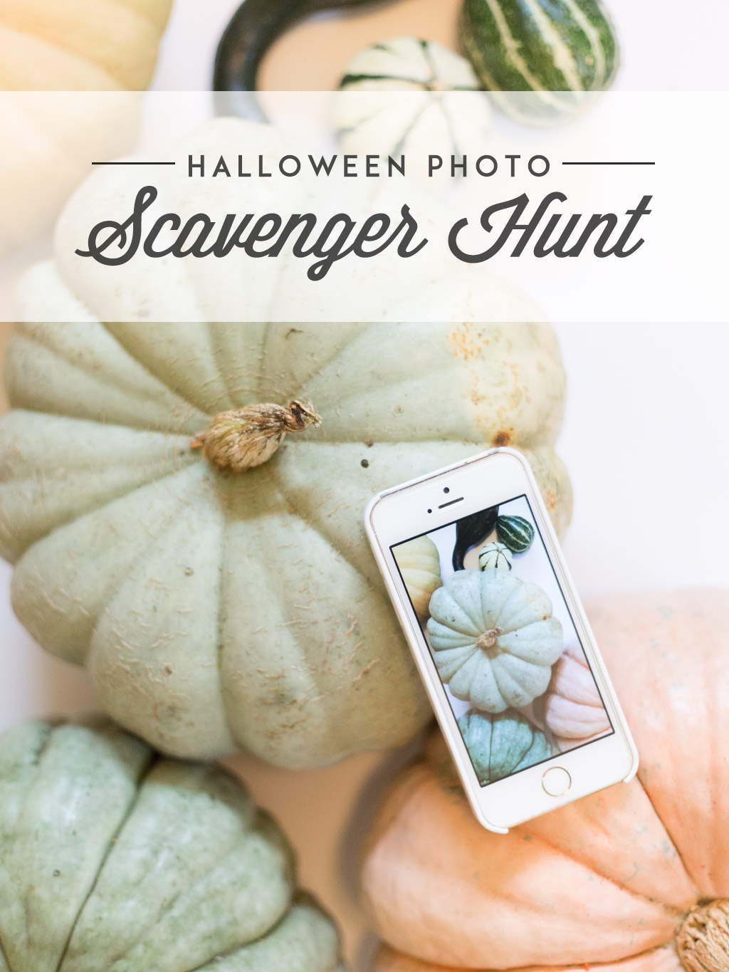 Halloween Photo Scavenger Hunt