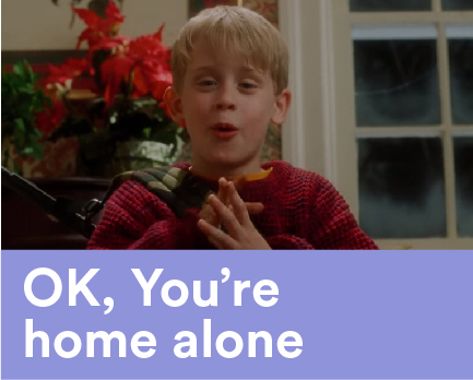 Ok, You're Home Alone